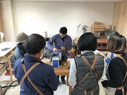 나무와 칼, 도끼 : 날물연마 원데이 워크숍